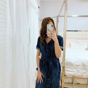 Eddie Bauer denim dress